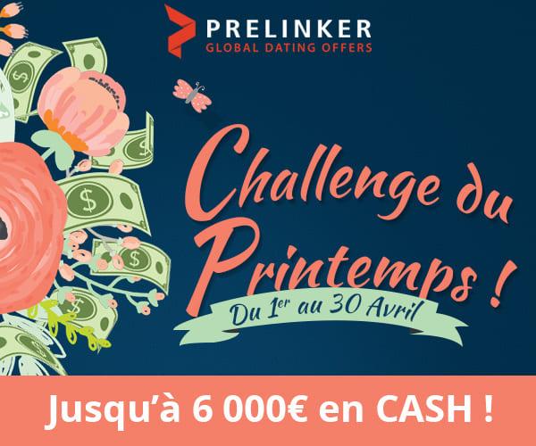 Prelinker propose son challenge affiliation rencontre du printemps 2020