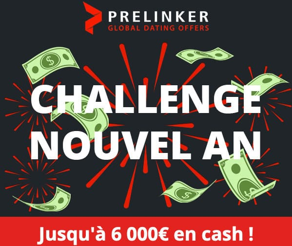 Challenge affiliation Prelinker pour le nouvel an 2020