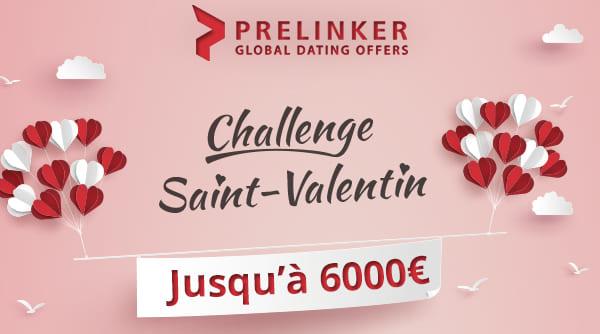 Challenge Affiliation Rencontre Prelinker pour la Saint Valentin 2020